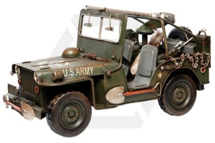 "101 Inc Metal Model ""Willys Jeep"" © Copyright Zero One Airsoft"