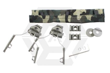 Z-Tactical Helmet Rail Adapter Set (Olive)