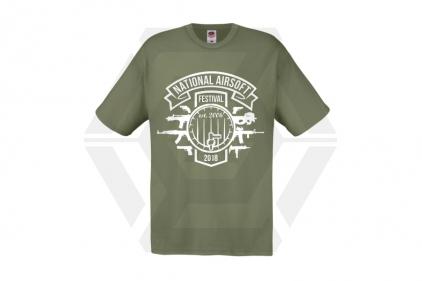 Daft Donkey Special Edition NAF 2018 'Est. 2006' T-Shirt (Olive)