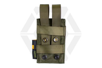101 Inc MOLLE Elastic Single M4 Mag Pouch (Olive)