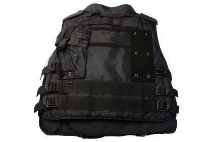 Mil-Force External Assault Vest (Black)
