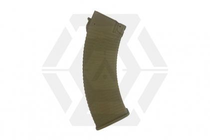 APS AEG Non-Slip Mag for AK 500rds (Tan) © Copyright Zero One Airsoft