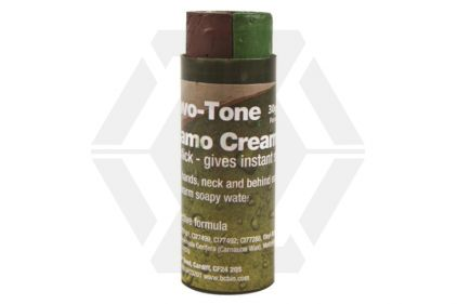 BCB Wesco 30g Two-Tone Camo Cream Stick (Brown/Green)