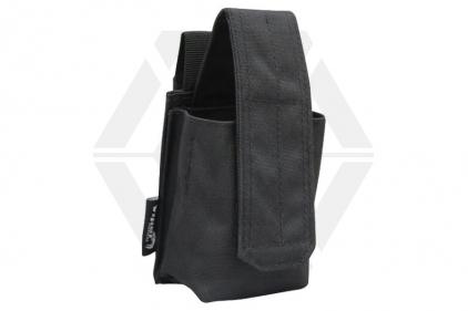 Viper MOLLE Grenade Pouch (Black) © Copyright Zero One Airsoft