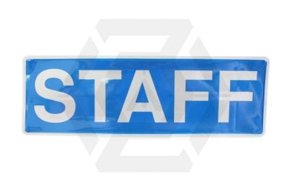 Zero One VizMax Pro Reflective Staff Badge Large © Copyright Zero One Airsoft