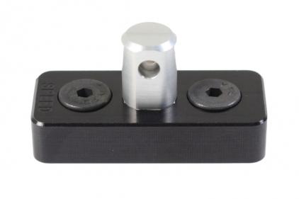 Speed Airsoft Sling Swivel Stud/Bipod Adaptor for KeyMod (Black)
