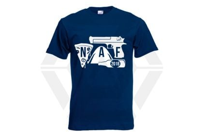 Daft Donkey Special Edition NAF 2018 'Airsoft Festival' T-Shirt (Navy)