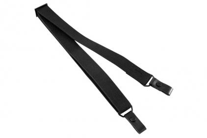 NCS Basic 2 Point Rifle Sling (Black) © Copyright Zero One Airsoft