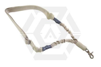 NCS VISM Single Point Bungee Sling (Tan) © Copyright Zero One Airsoft