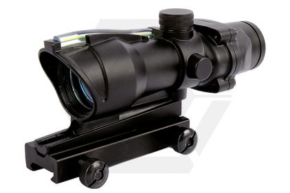 EB AABB AG Style 4x Scope with Green Fibre Illuminated Crosshairs