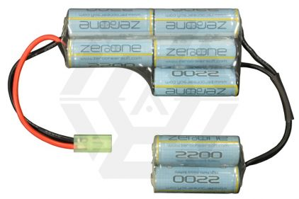 Zero One 8.4v 2200mAh NiMH Battery for Ares L85 Rifle