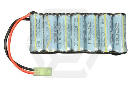 Zero One 8.4v 2200mAh NiMH Battery for Ares L85 Carbine, L86 LSW & Star/ICS AN-PEQ