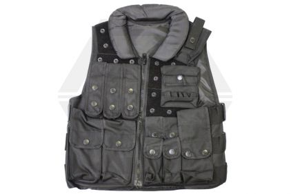 Mil-Force Police Assault Vest (Black)