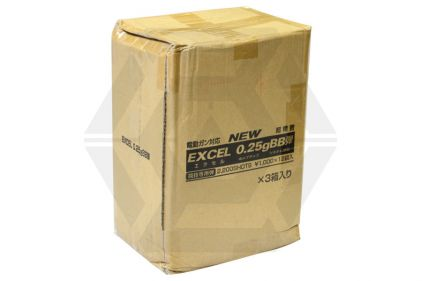 Excel BB 0.25g 2200rds Carton of 36 (Bundle)