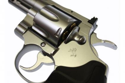 Tokyo Marui GAS Colt Python 2.5 Inch Silver