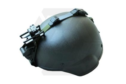 Emerson MICH 2000 Helmet with Rhino Night Vision Mount (Black)