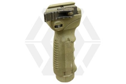 EB QD Folding Grip for 20mm Rail (Olive)