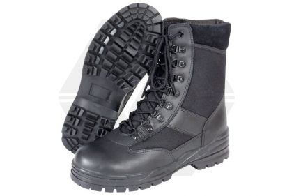 Mil-Com Patrol Boots (Black) - Size 8 © Copyright Zero One Airsoft