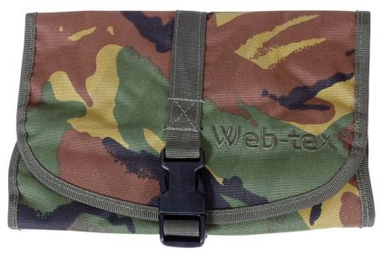 Web-Tex Wash Bag (DPM) © Copyright Zero One Airsoft
