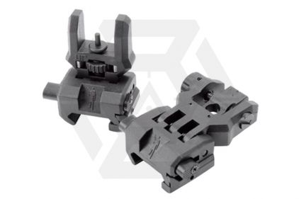 CAA Low Profile Flip-Up Sight Set (Black)