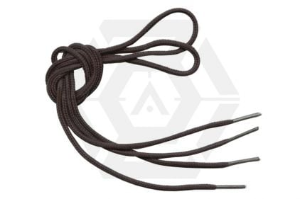 MFH Black Boot Laces (Pair) © Copyright Zero One Airsoft