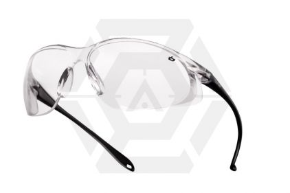 Boll� Protection Glasses Chopper with Clear Frame and Clear Lens