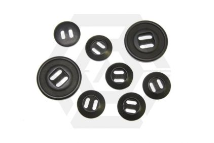 *Clearance* Assorted Buttons Pack of 8 (Black)