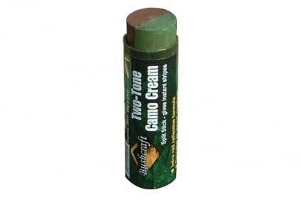 BCB Wesco 60g Two-Tone Camo Cream Stick (Brown/Green)