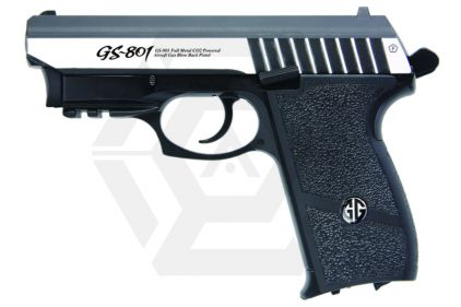 G&G CO2 BLK GS-801 with Laser (Silver)