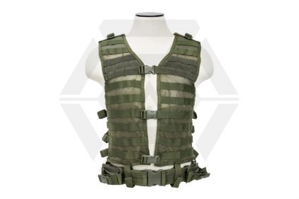 NCS VISM MOLLE Base Vest (Olive) © Copyright Zero One Airsoft