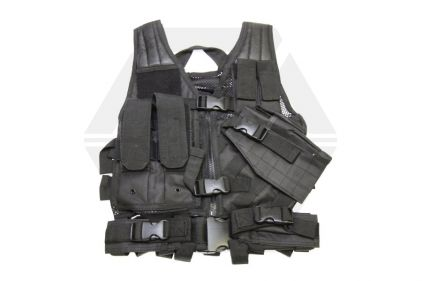 NCS VISM Kids Tactical Vest (Black) © Copyright Zero One Airsoft