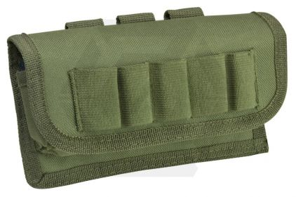 NCS VISM MOLLE Tactical Shotgun Shell Pouch (Olive)