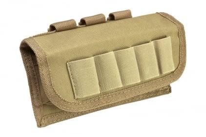 NCS VISM MOLLE Tactical Shotgun Shell Pouch (Tan)