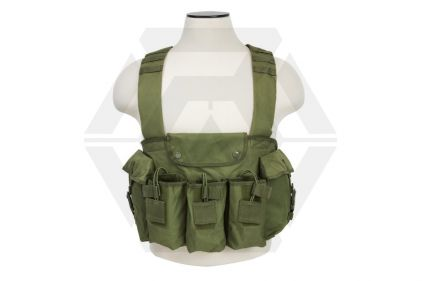 NCS VISM Chest Rig (Olive) © Copyright Zero One Airsoft