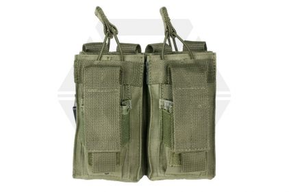 NCS VISM MOLLE Double Mag Pouch for M4 with Pistol Mag Pouches (Olive) © Copyright Zero One Airsoft