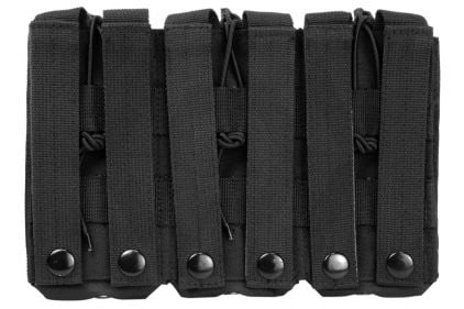 NCS VISM MOLLE Triple Mag Pouch for M4 (Black)