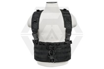 NCS VISM MOLLE Chest Rig with Mag Pouches (Black)