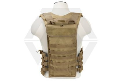 NCS VISM MOLLE Chest Rig with Mag Pouches (Tan)