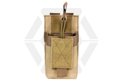 NCS VISM MOLLE Mag Pouch for M4 Single (Tan)