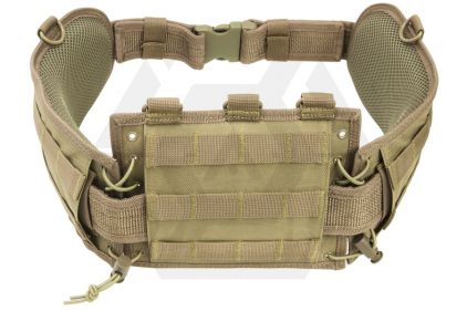 NCS VISM MOLLE Belt Platform (Tan) © Copyright Zero One Airsoft