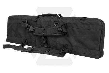 "NCS VISM MOLLE Double Rifle Case 42"" with Side Pouches (Black)"