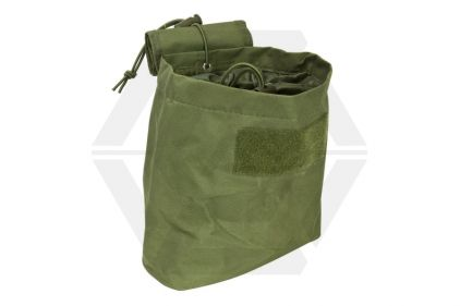 NCS VISM MOLLE Folding Dump Pouch (Olive) © Copyright Zero One Airsoft
