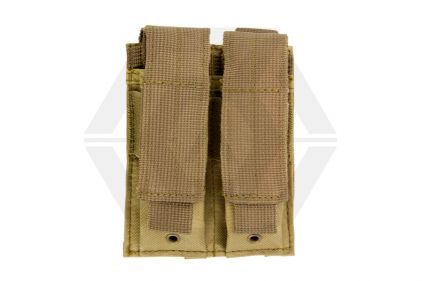 NCS VISM MOLLE Pistol Mag Pouch Double (Tan) © Copyright Zero One Airsoft