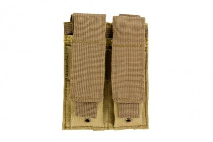 NCS VISM MOLLE Pistol Mag Pouch Double (Tan)