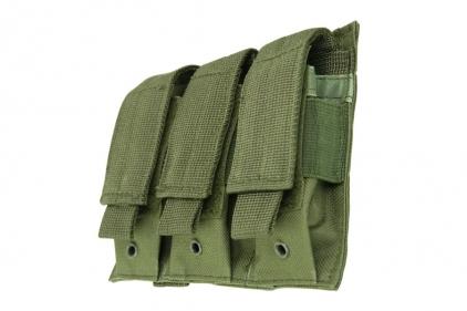 NCS VISM MOLLE Pistol Mag Pouch Triple (Olive)