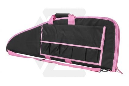 """NCS VISM Rifle Case 40"""" (Black with Pink Trim) © Copyright Zero One Airsoft"""