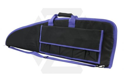 "NCS VISM Rifle Case 36"" (Black with Purple Trim)"