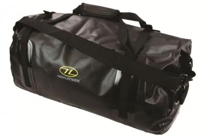 Highlander Mallaig Tri-Laminate 35L Duffle Dry Bag (Black)