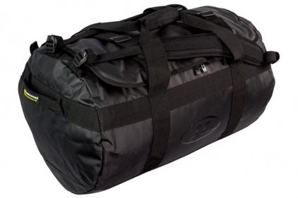Highlander Lomond Tarpaulin 65L Duffle Bag (Black)
