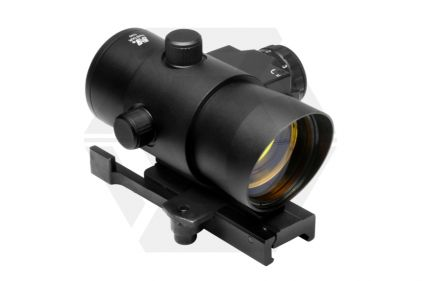 NCS 1x40 Red Dot with Built in Laser & Quick Release Mount